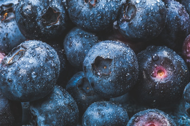 blueberries in a pile a healthy snacking idea from BOARD30